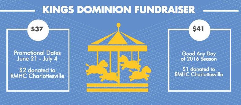 kings dominion fundraiser
