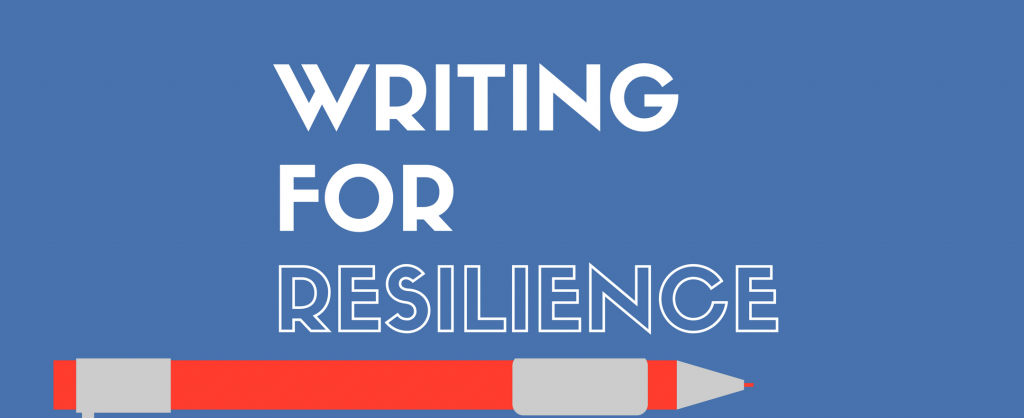 writing for resilience workshop advertisement