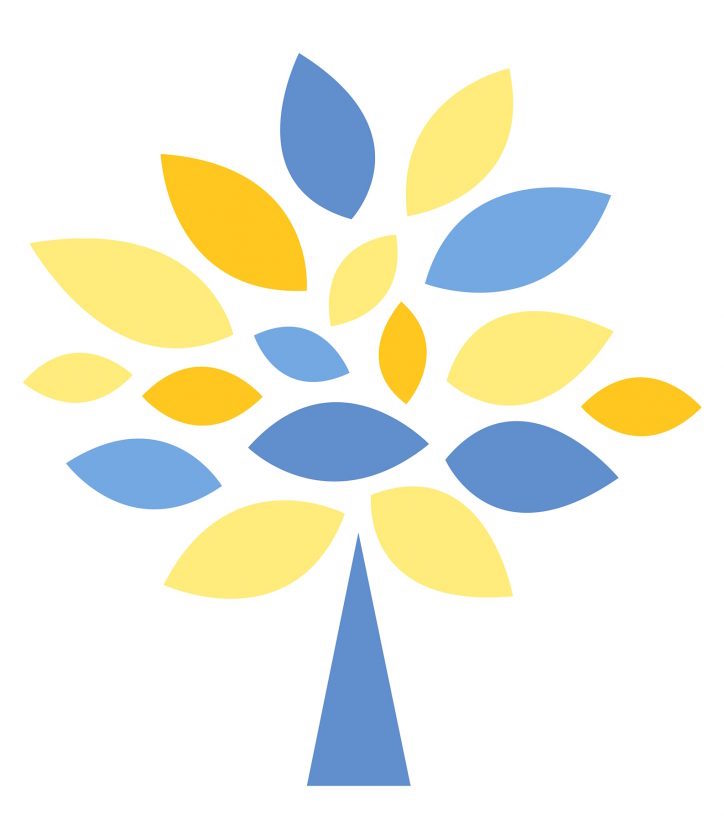 caring hearts legacy society tree icon