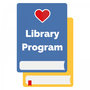 library program logo